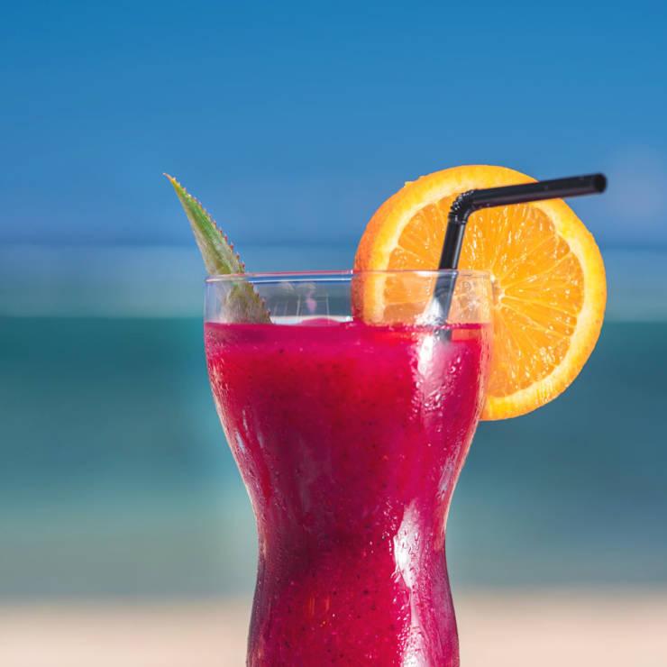 Cocktails et jus de fruits